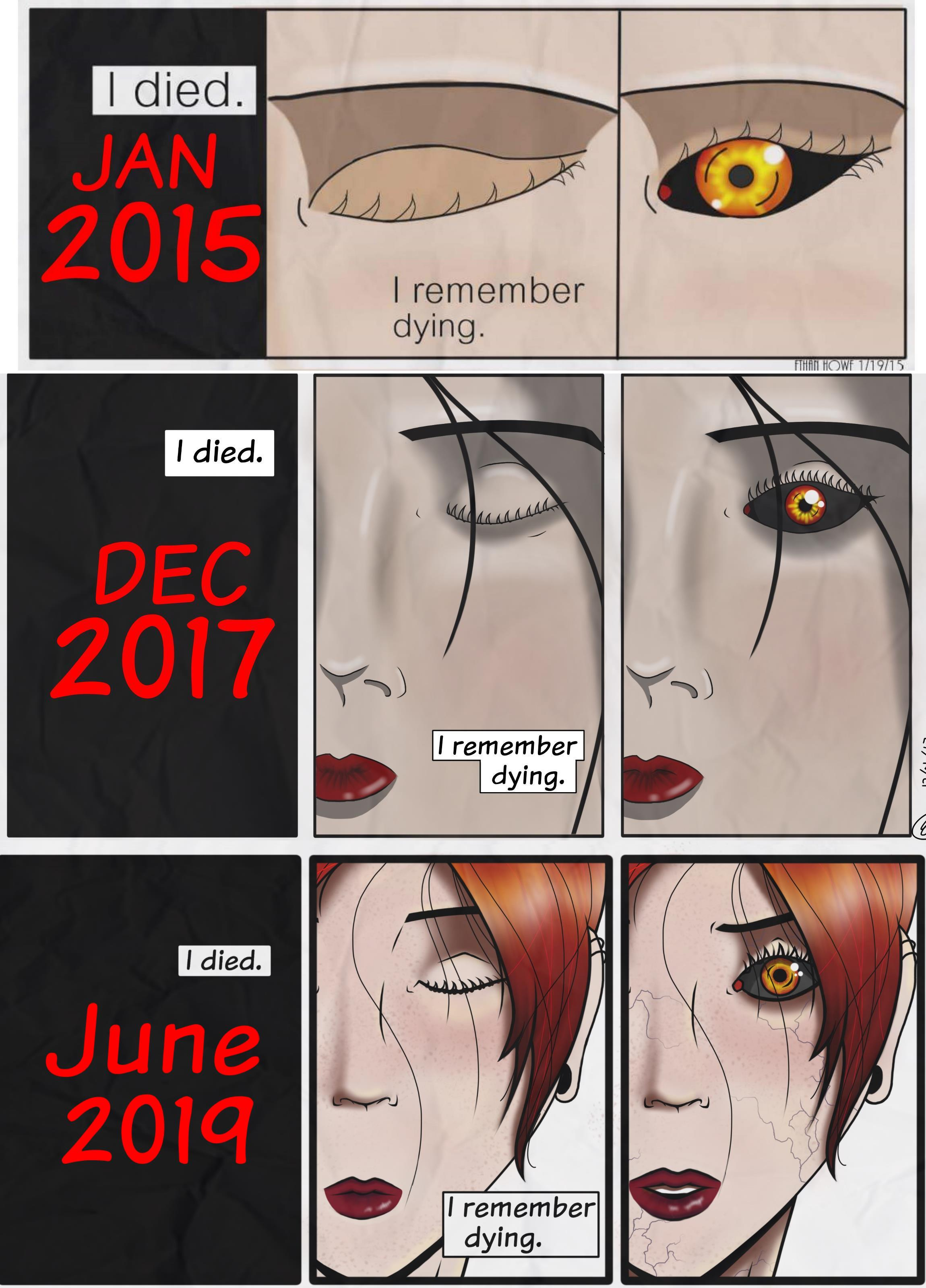 Page 1 through the years.