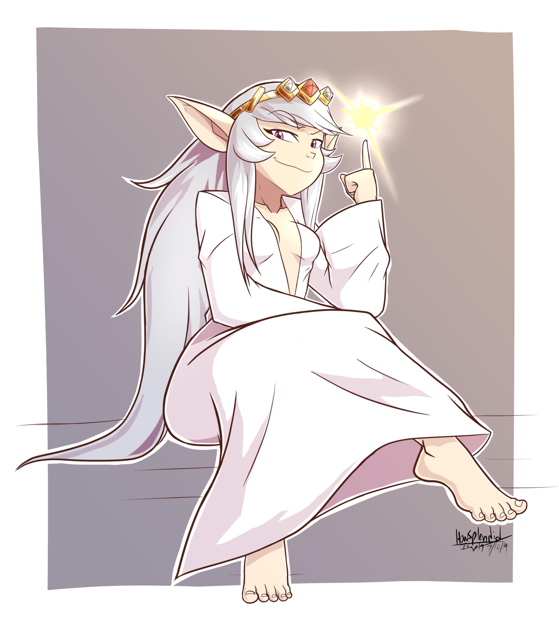 That pompous princess