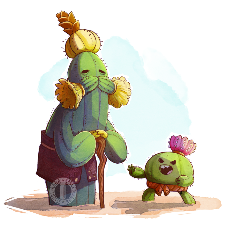 Way of the Prickly Fist