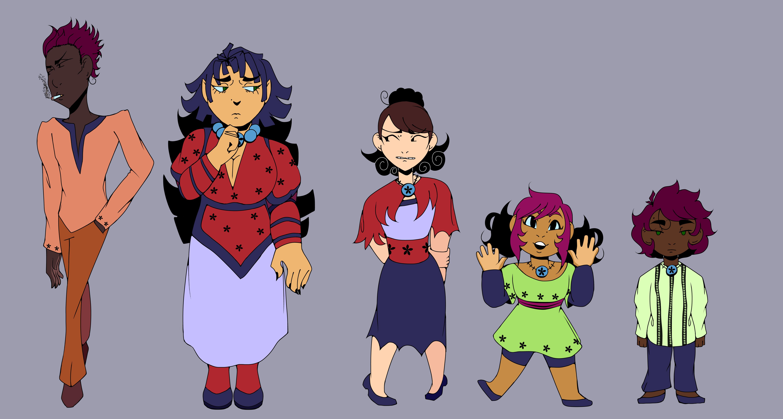 Julian and Catalina's Family