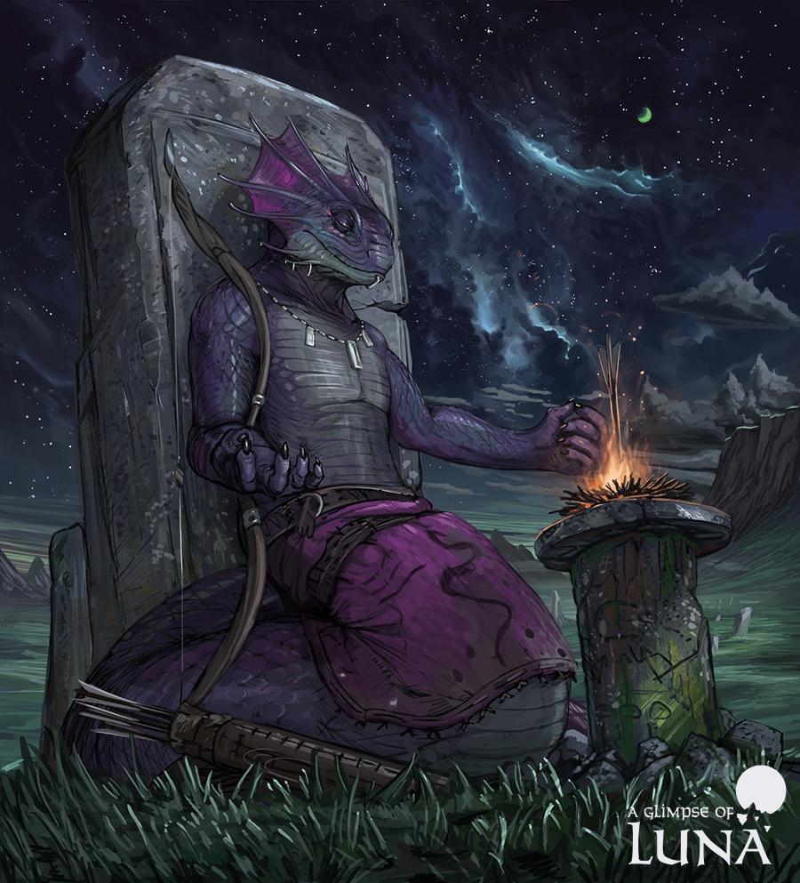 Spiritual archer [commission]