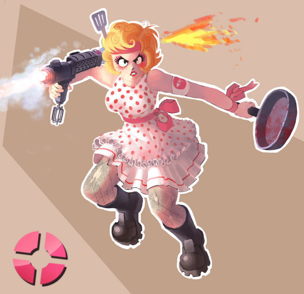 TF2: Girl Soldier