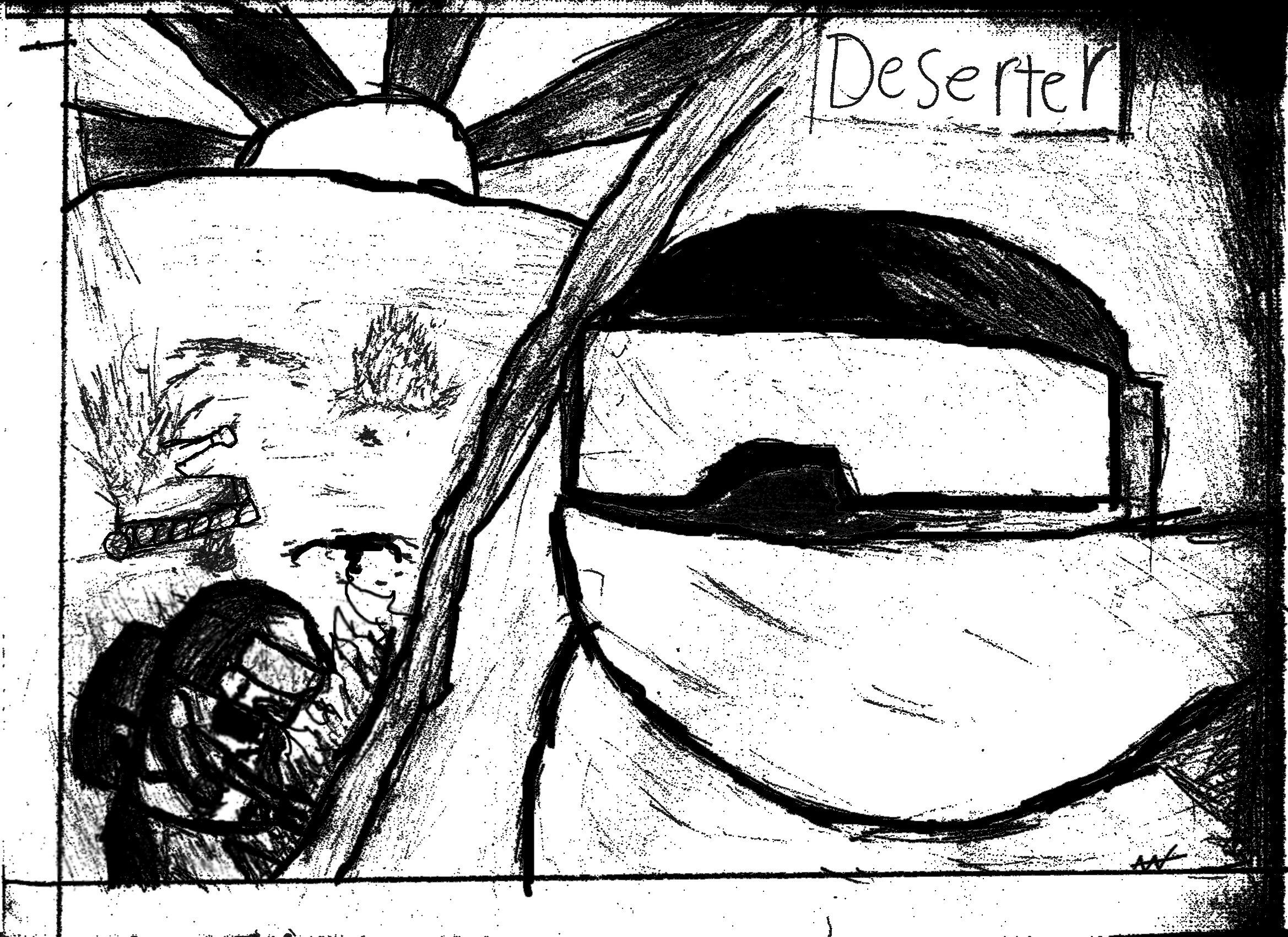 Deserter sketch pt 2