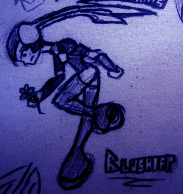 Blueshift doodle 1