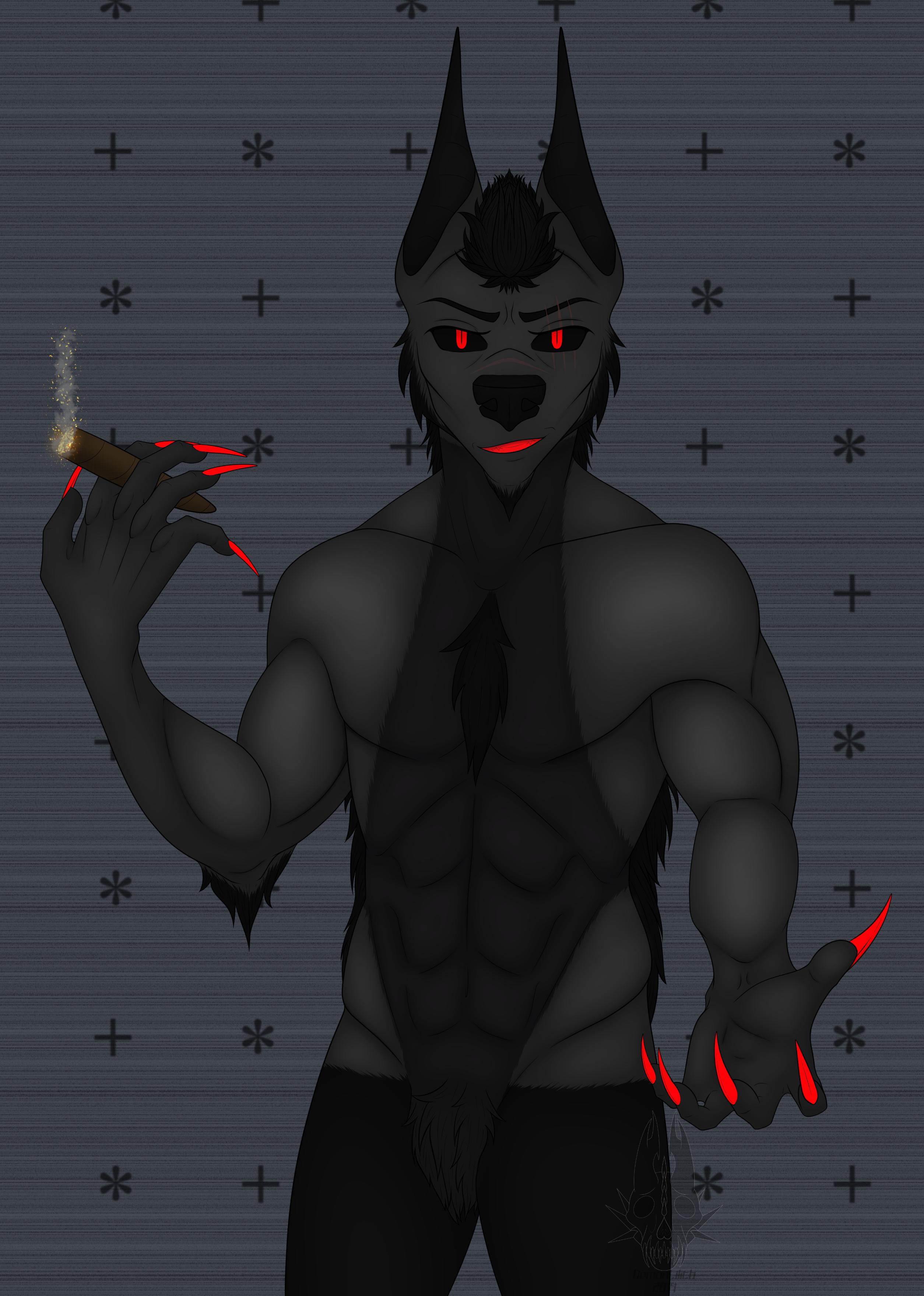 Come Here - Demon Lilith Werewolf Form (Non-Binary + Bits)