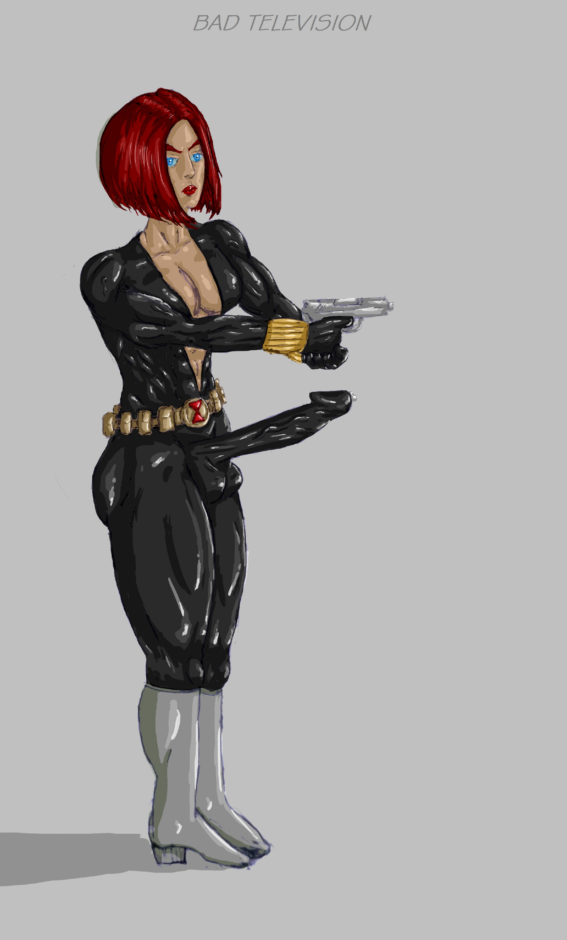 Black Widow Futa black widow futa by bad-television on newgrounds