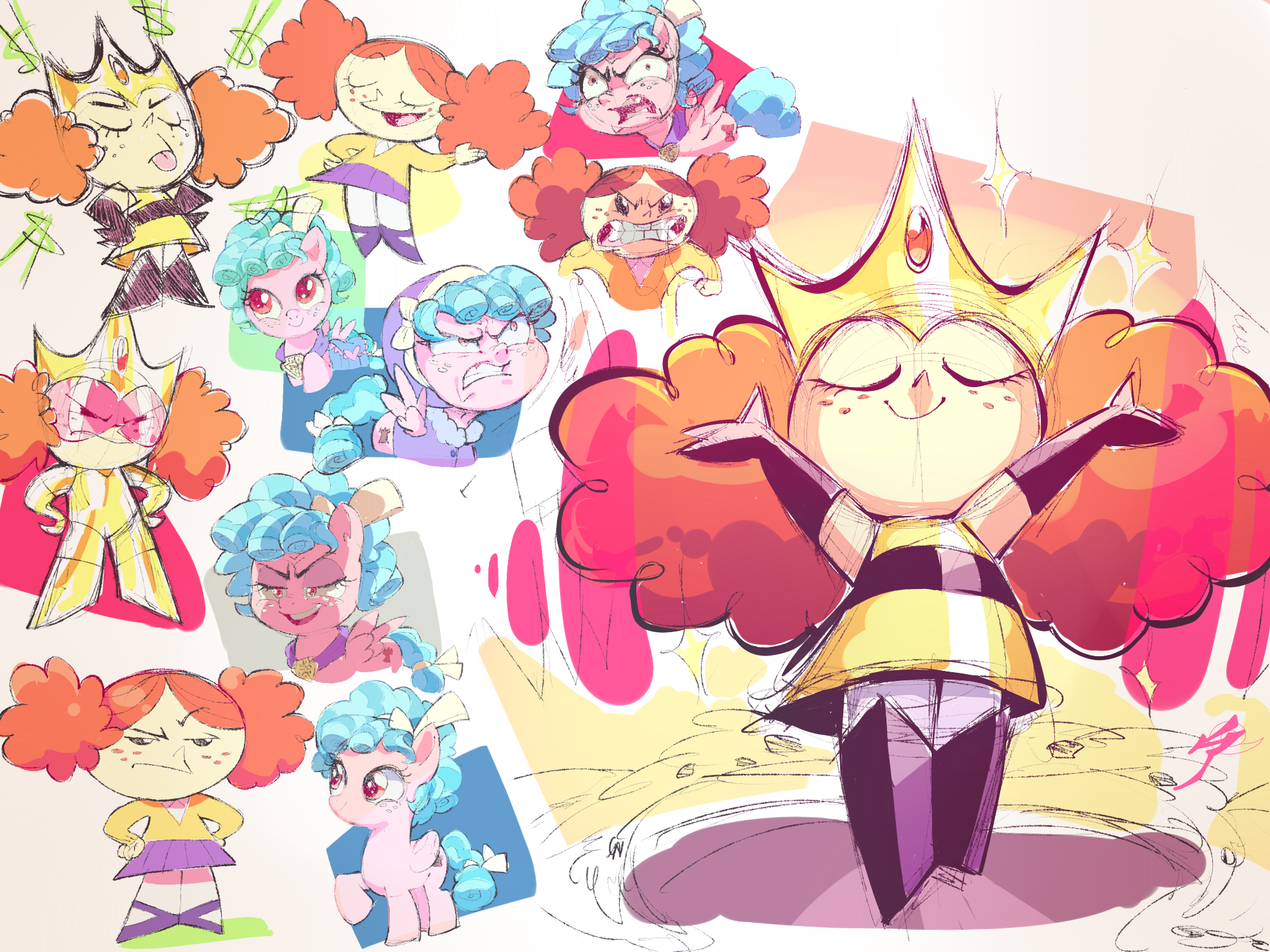 Princess Morbucks & Cozy Glow
