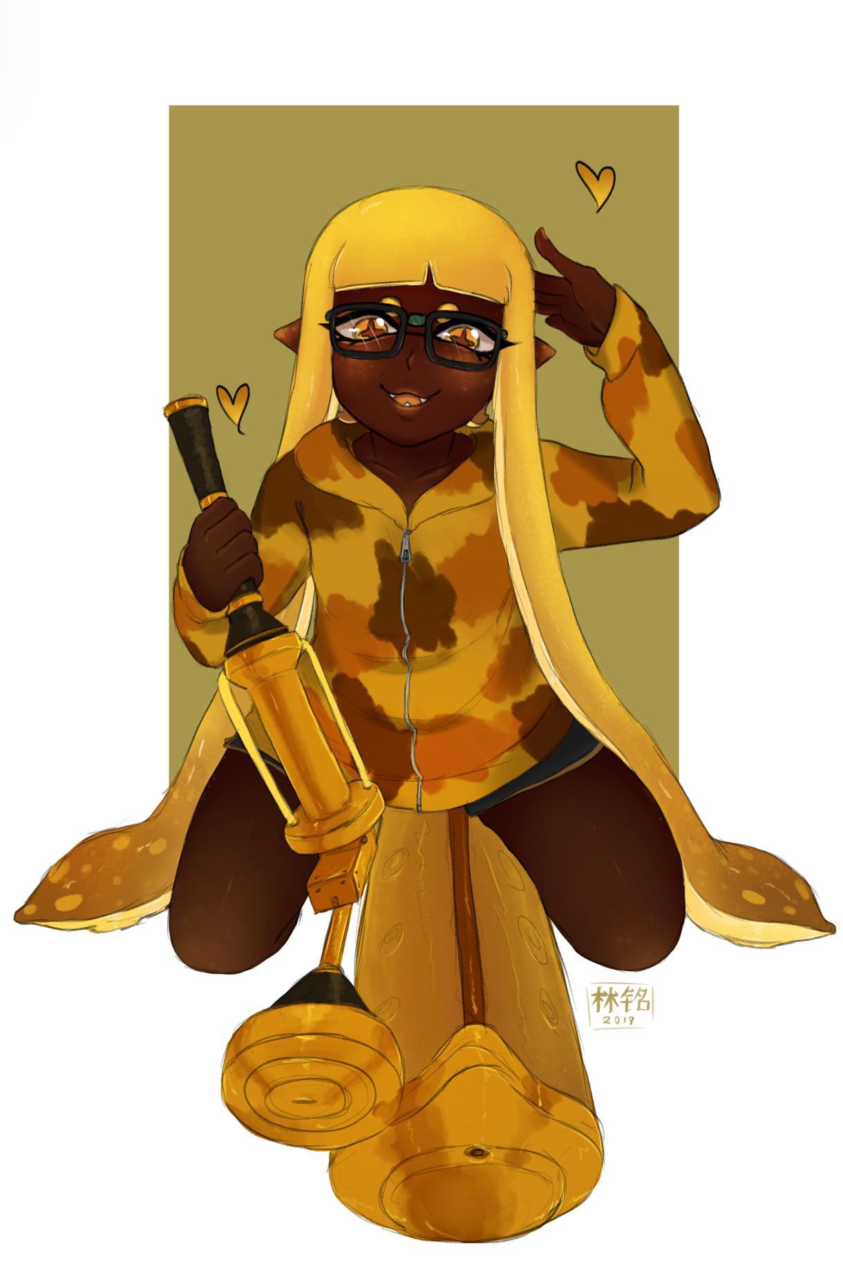Golden Girl [Splatoon OC]