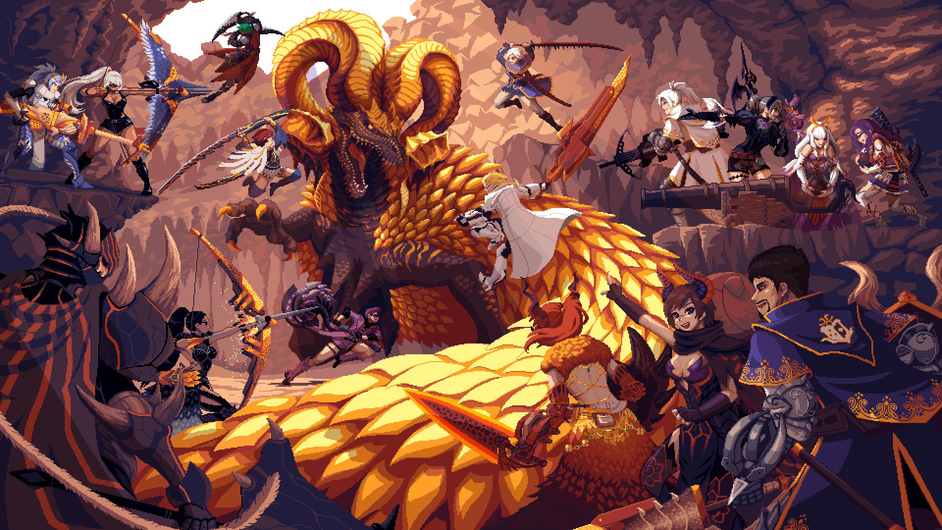 Monster Hunter World: Golden beast siege