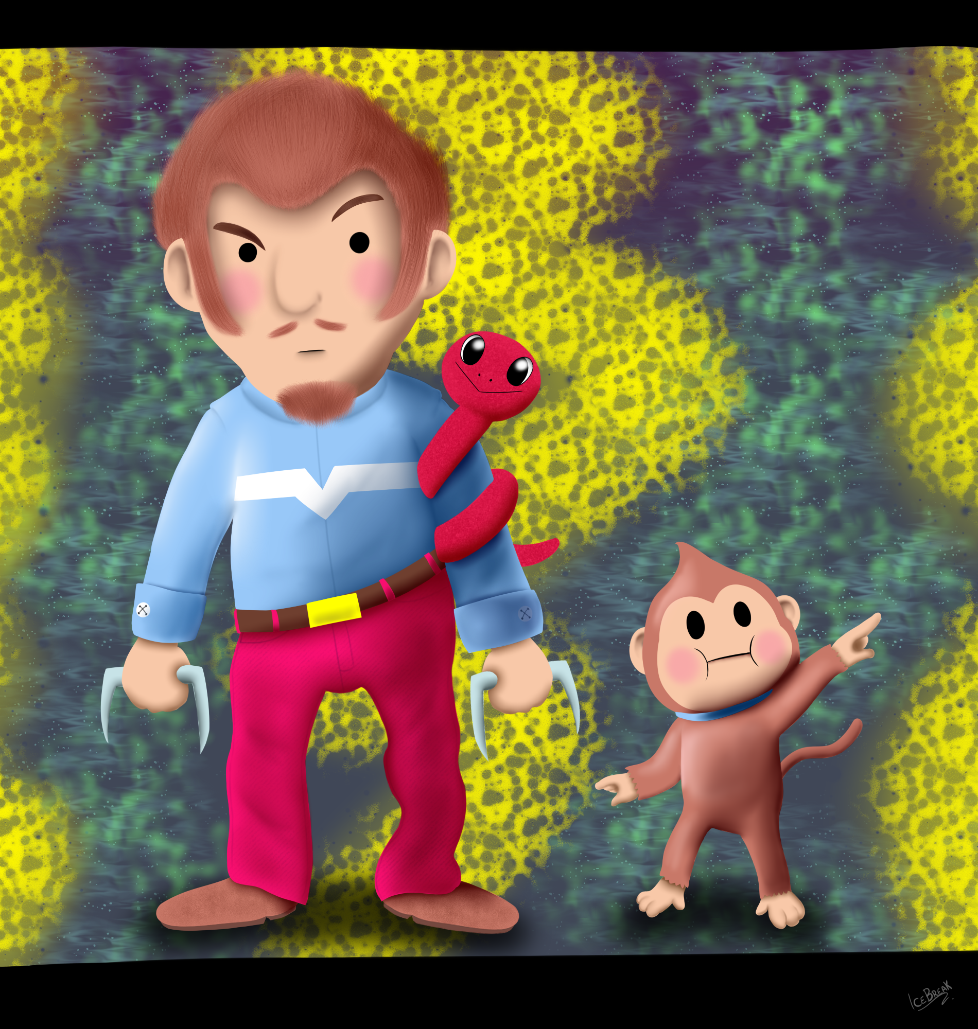 Mother 3 - Duster by IceBreak23 on Newgrounds