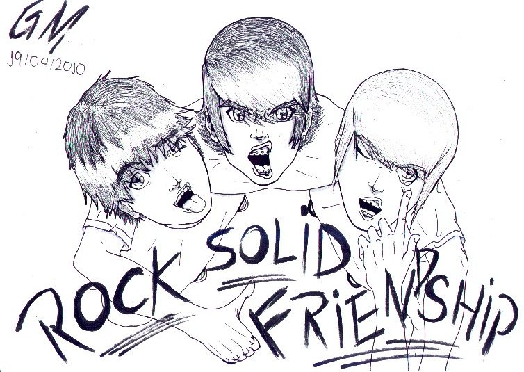 Rock Solid Friendship