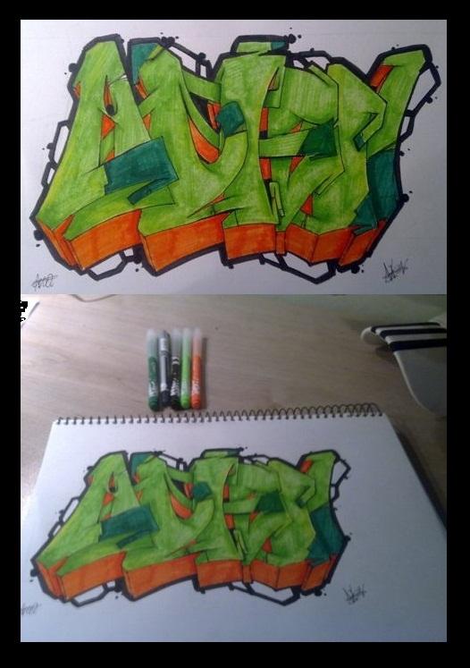 Alien - Graffiti