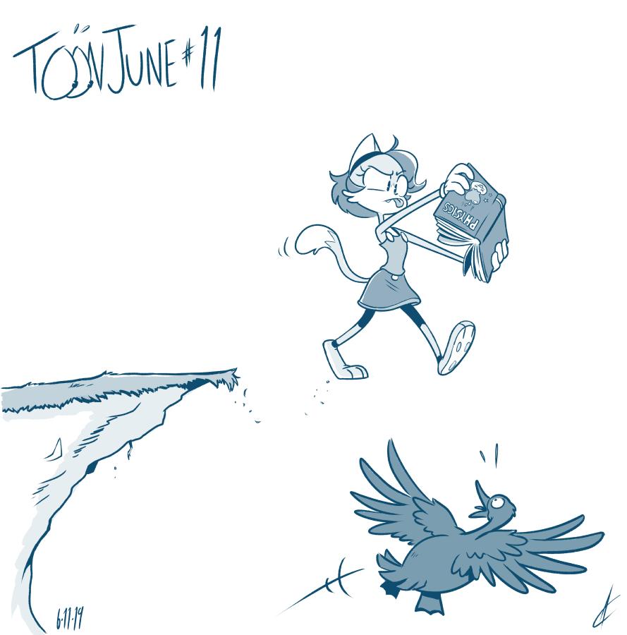 """TOON JUNE # 11 - """"Defied Gravity"""""""