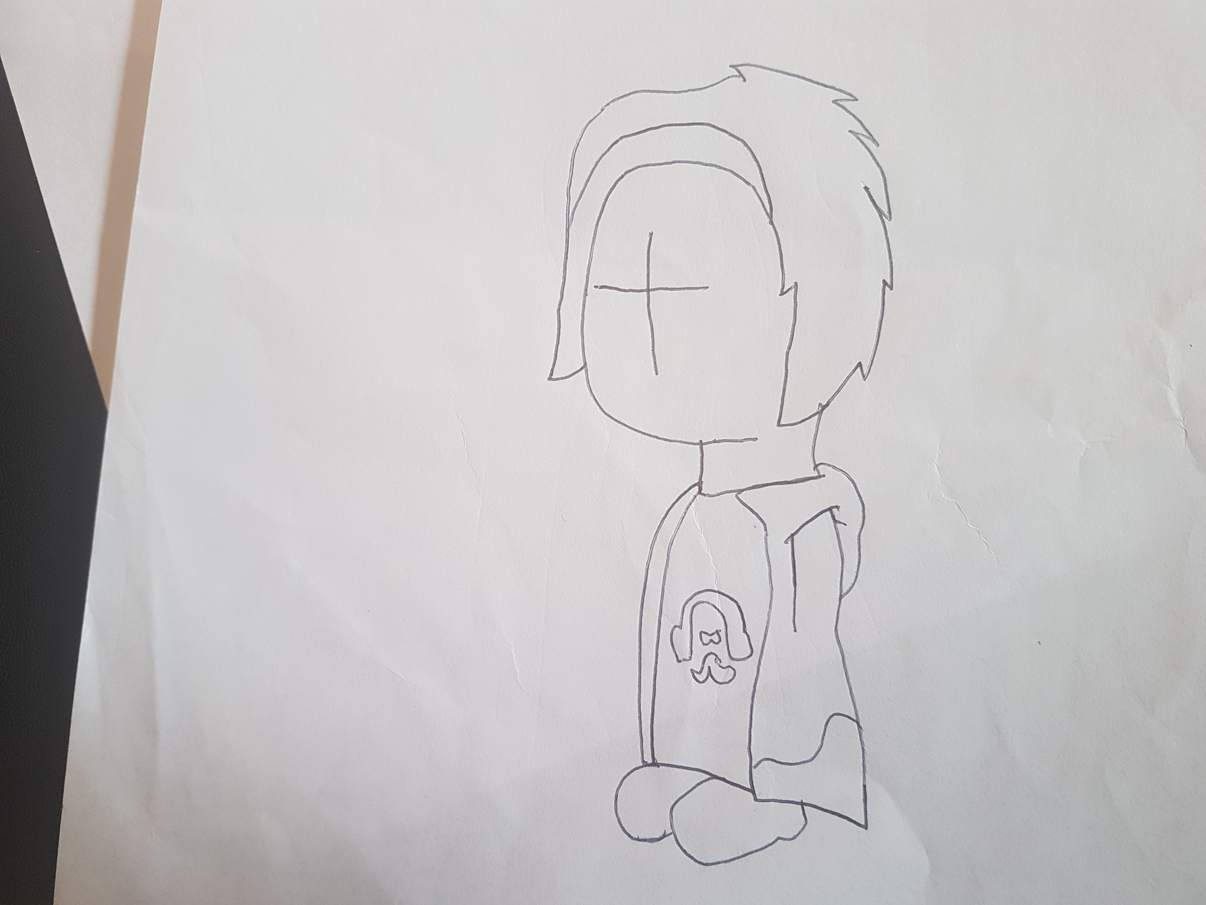 My Old Drawing of Cethic