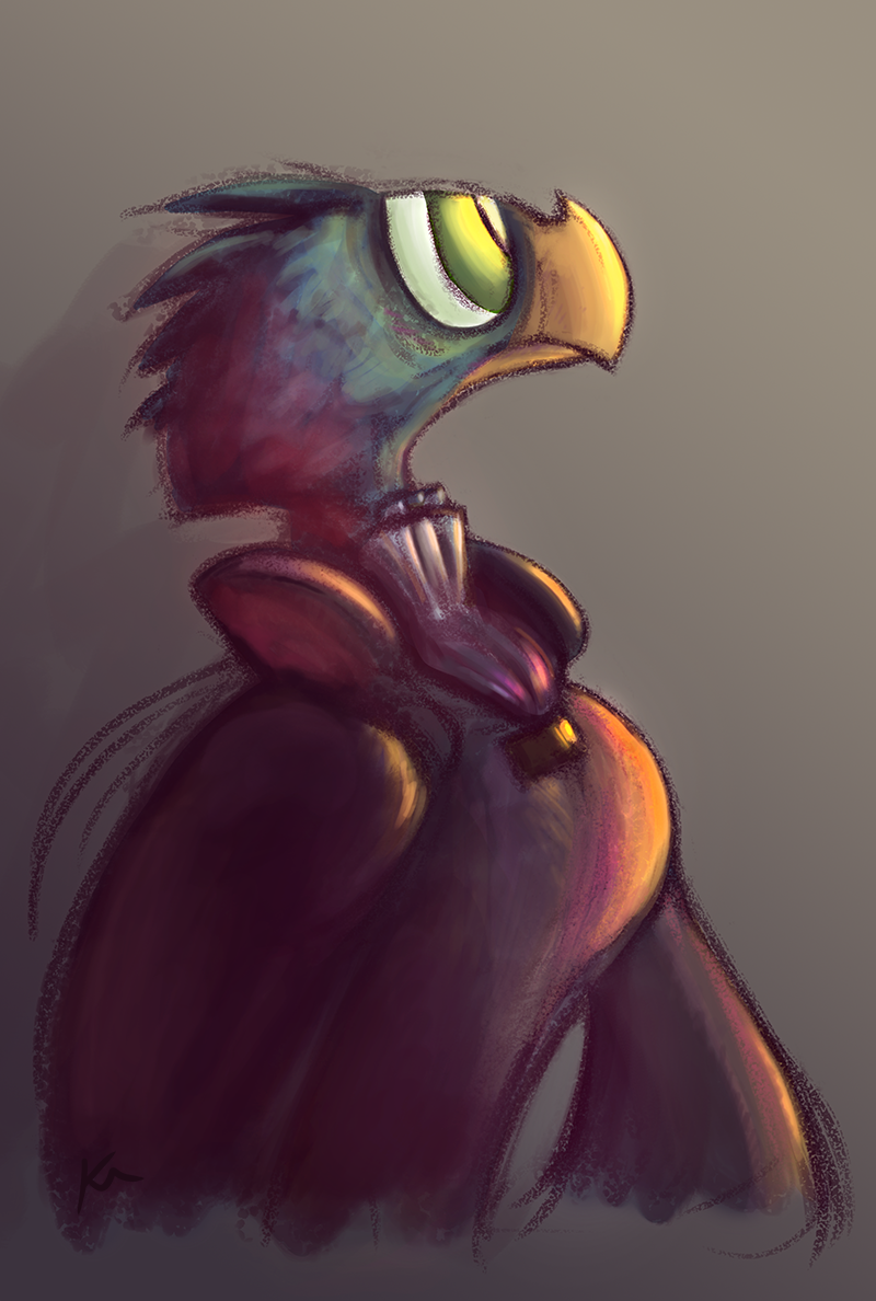 Aristocratic Bird