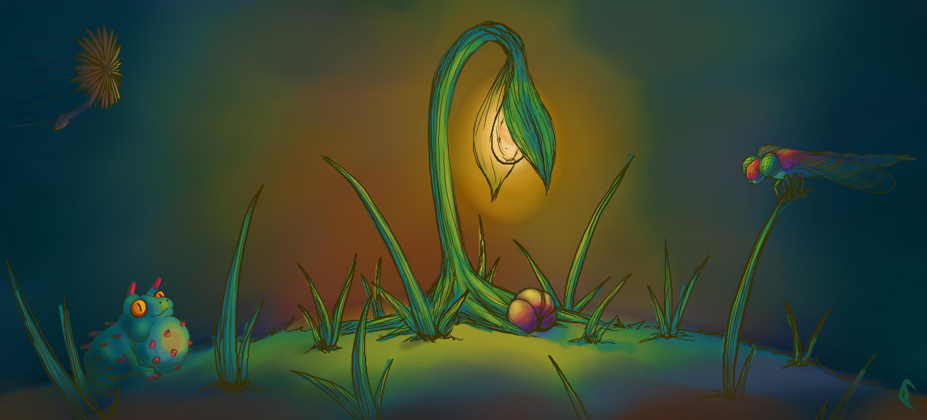 Bioluminous