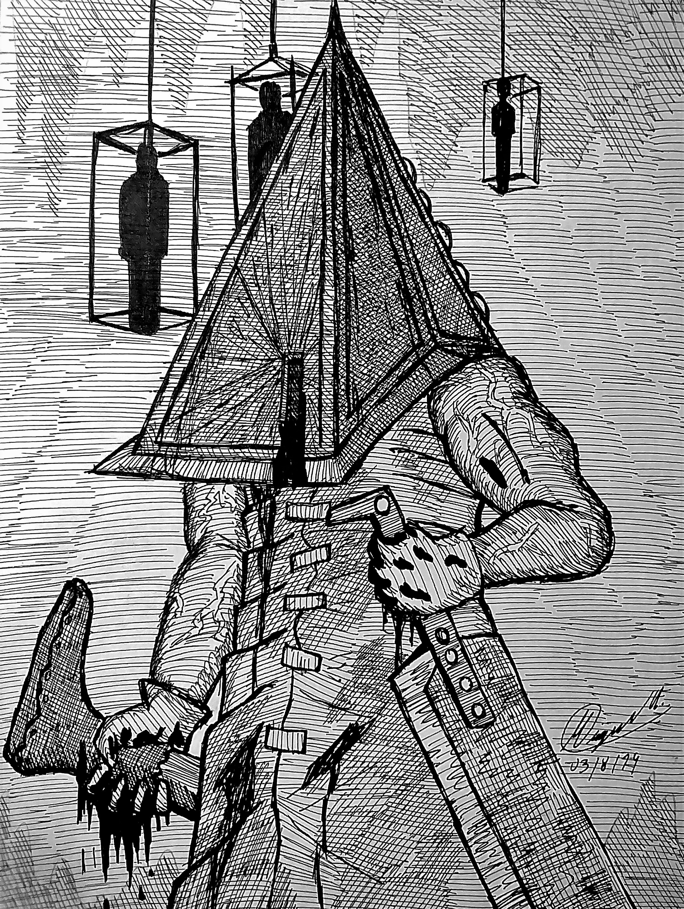 Silent Hill Red Pyramid Head By Atisuto17 On Newgrounds