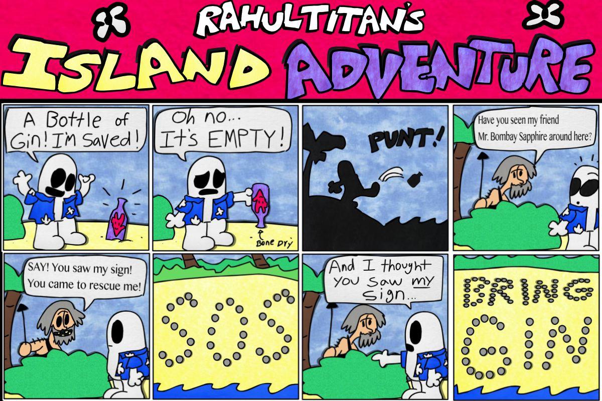 RAHUL TITAN'S ISLAND ADVENTURE ep5 S.O.S