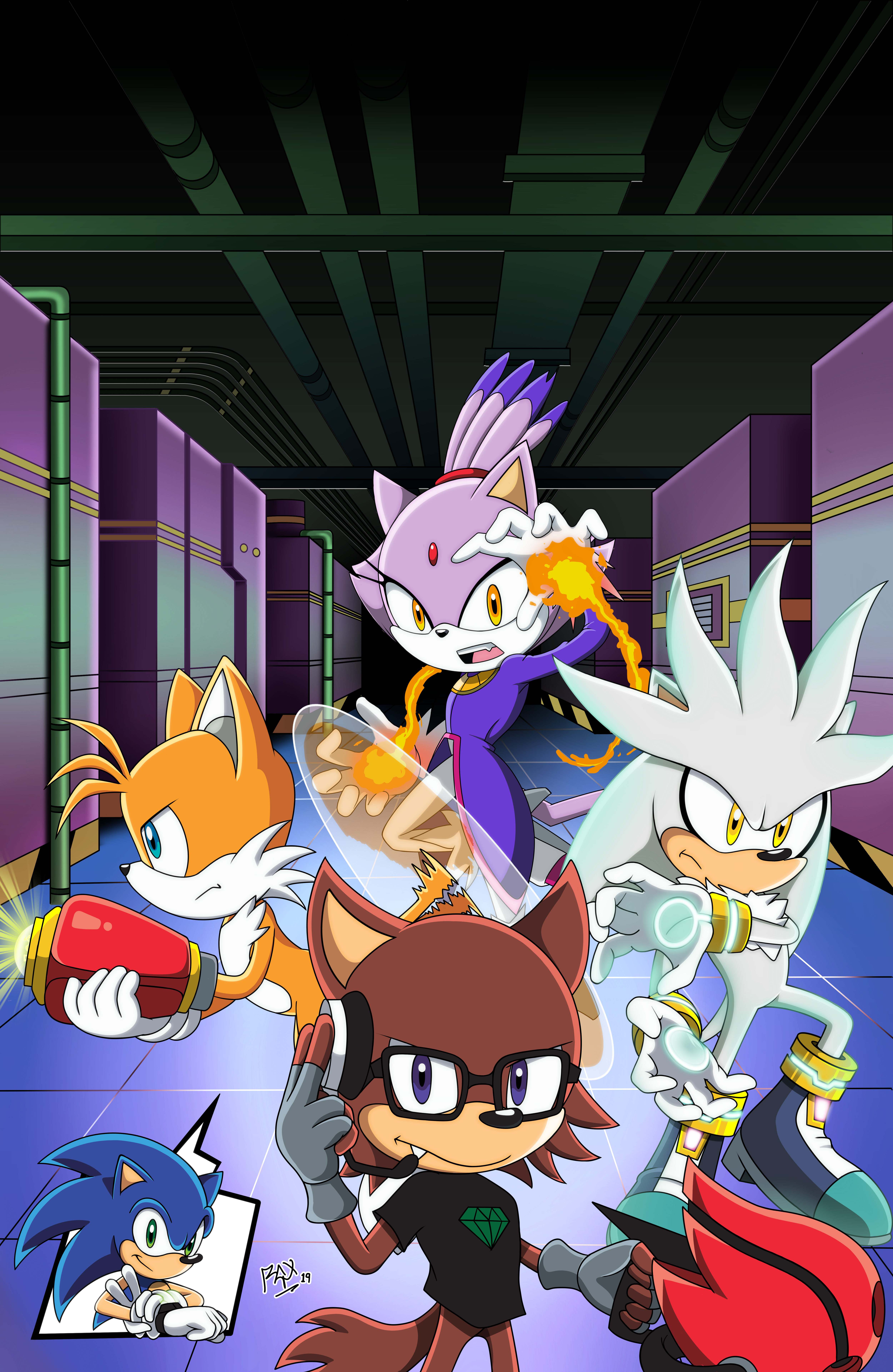 2019 - Comic Cover - Sonic Forces: Operation Infiltration