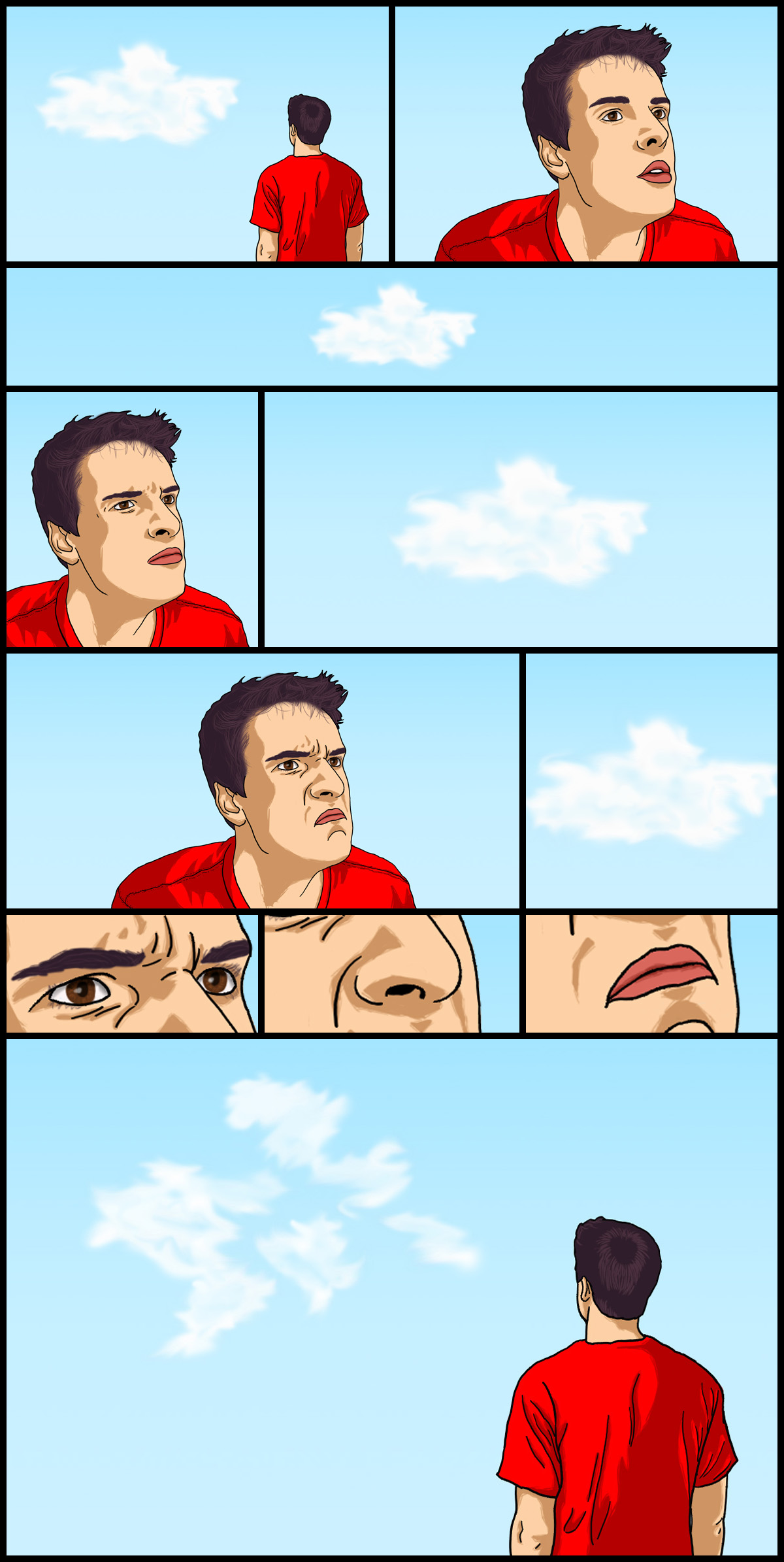 The Men Who Stare at Clouds