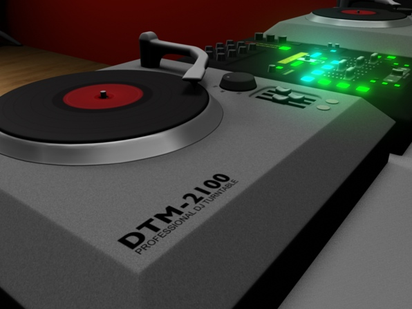 Turntable and Mixer