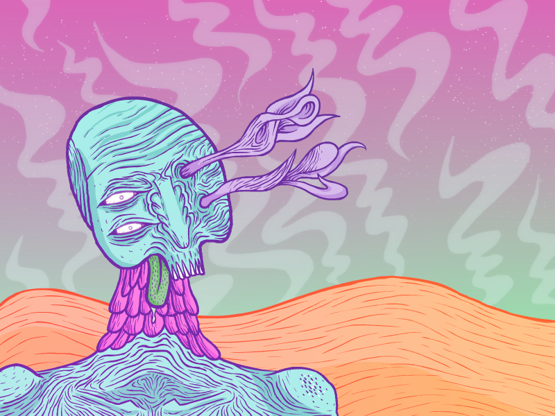 Space zombie