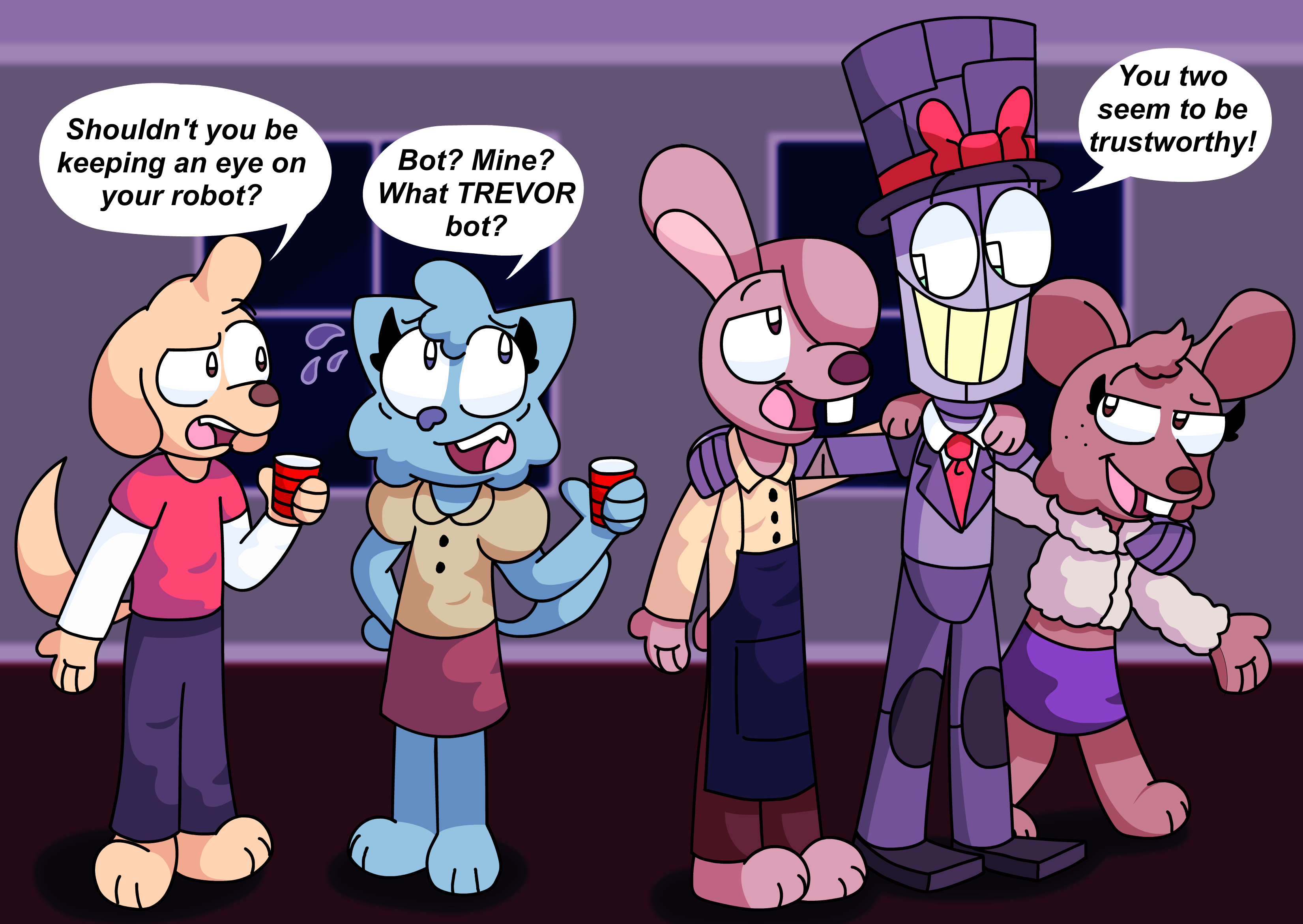 Cindy And Trevor Go To A Party By Jawaddles On Newgrounds