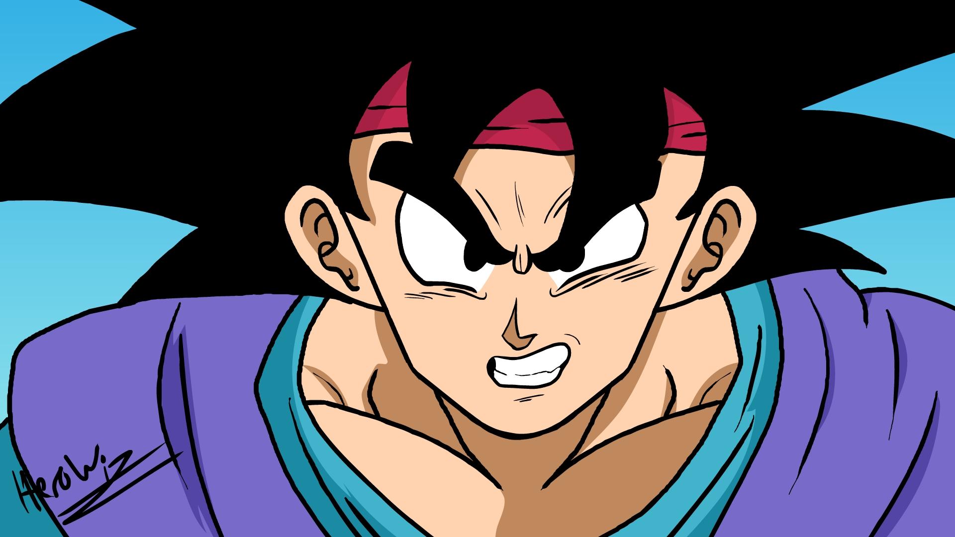 Adult Goku Jr