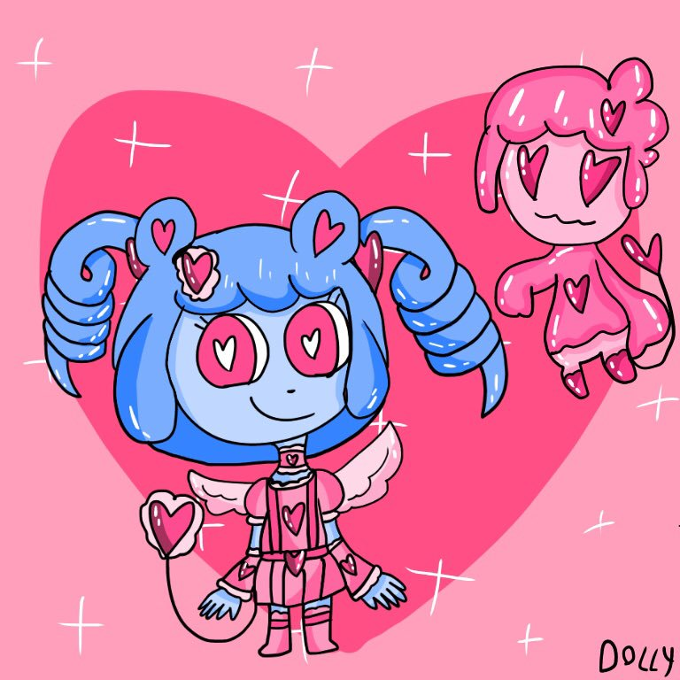 Qq Is A Pink Magical Girl By Dollychan166 On Newgrounds