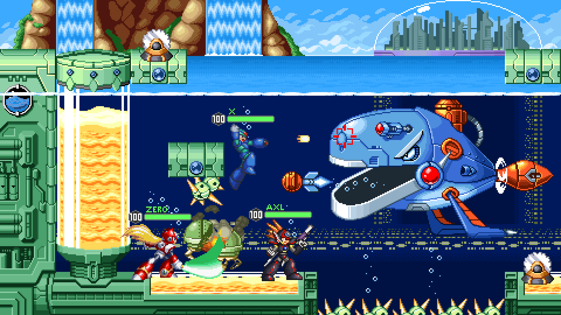 Megaman X Dive man stage?