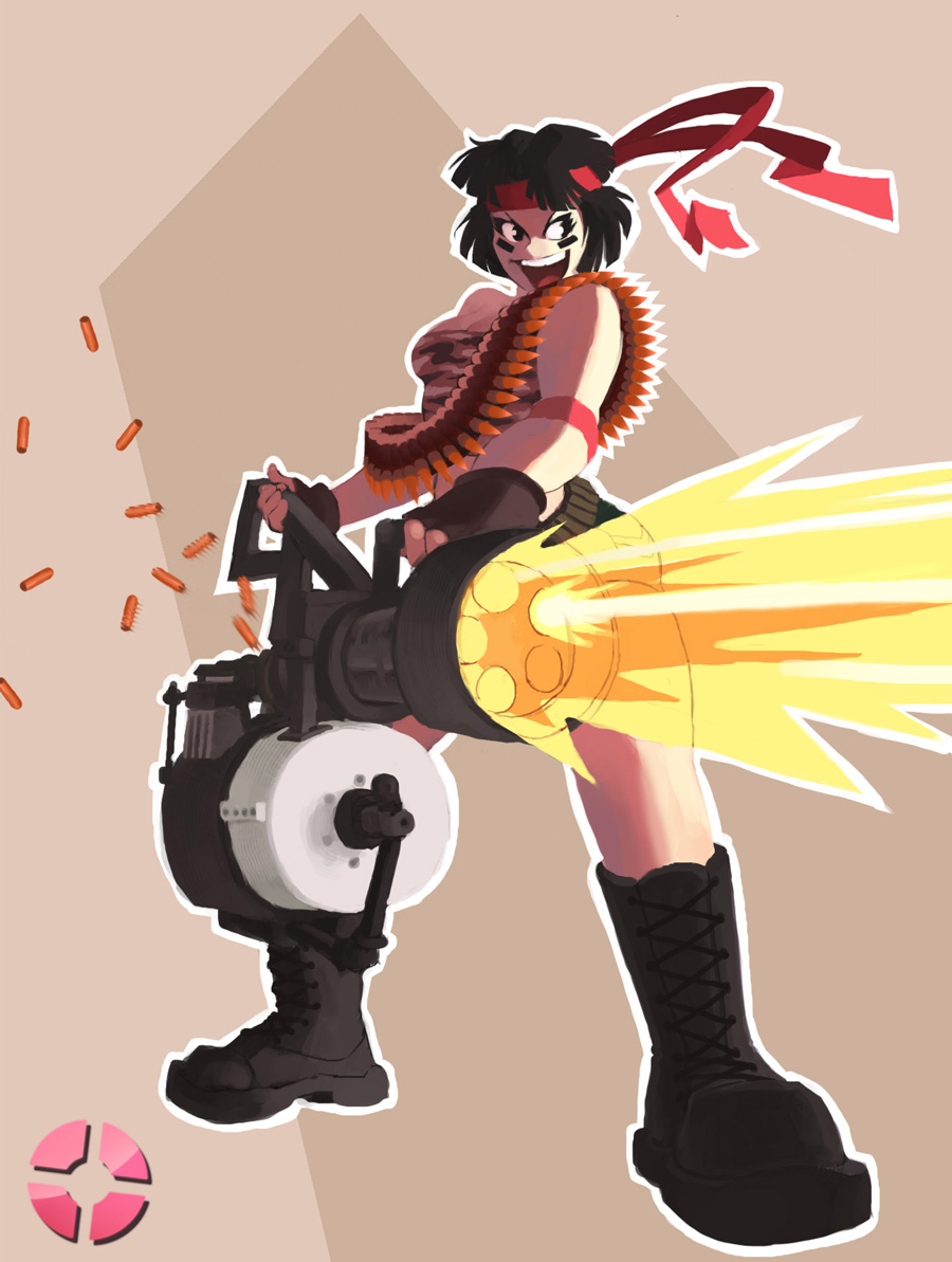 TF2: Heavy Weapons Girl