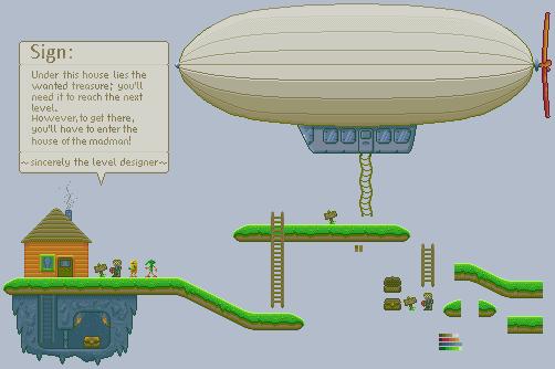 Pixel stage example