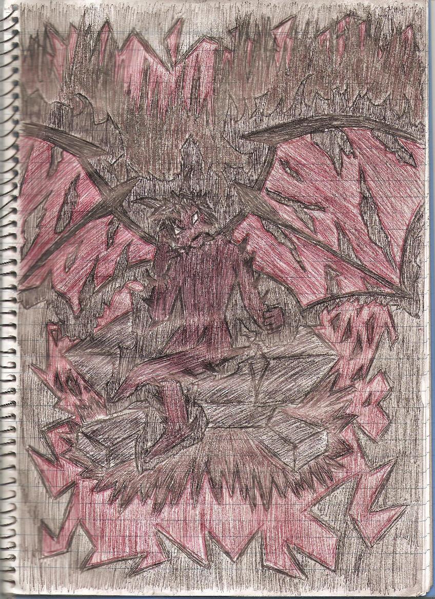 Devil Pencil Drawing - CaL