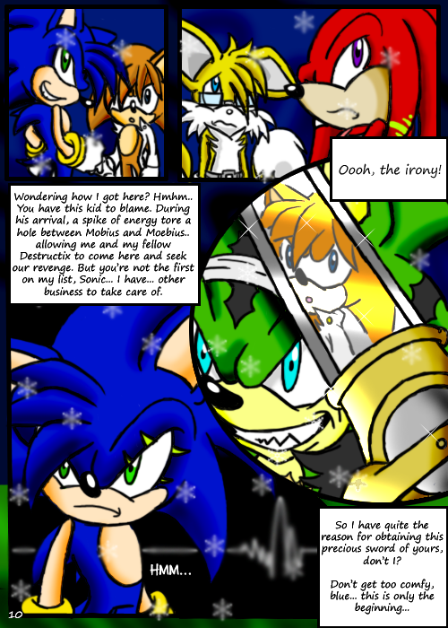 SONIC X.S. - Page 10