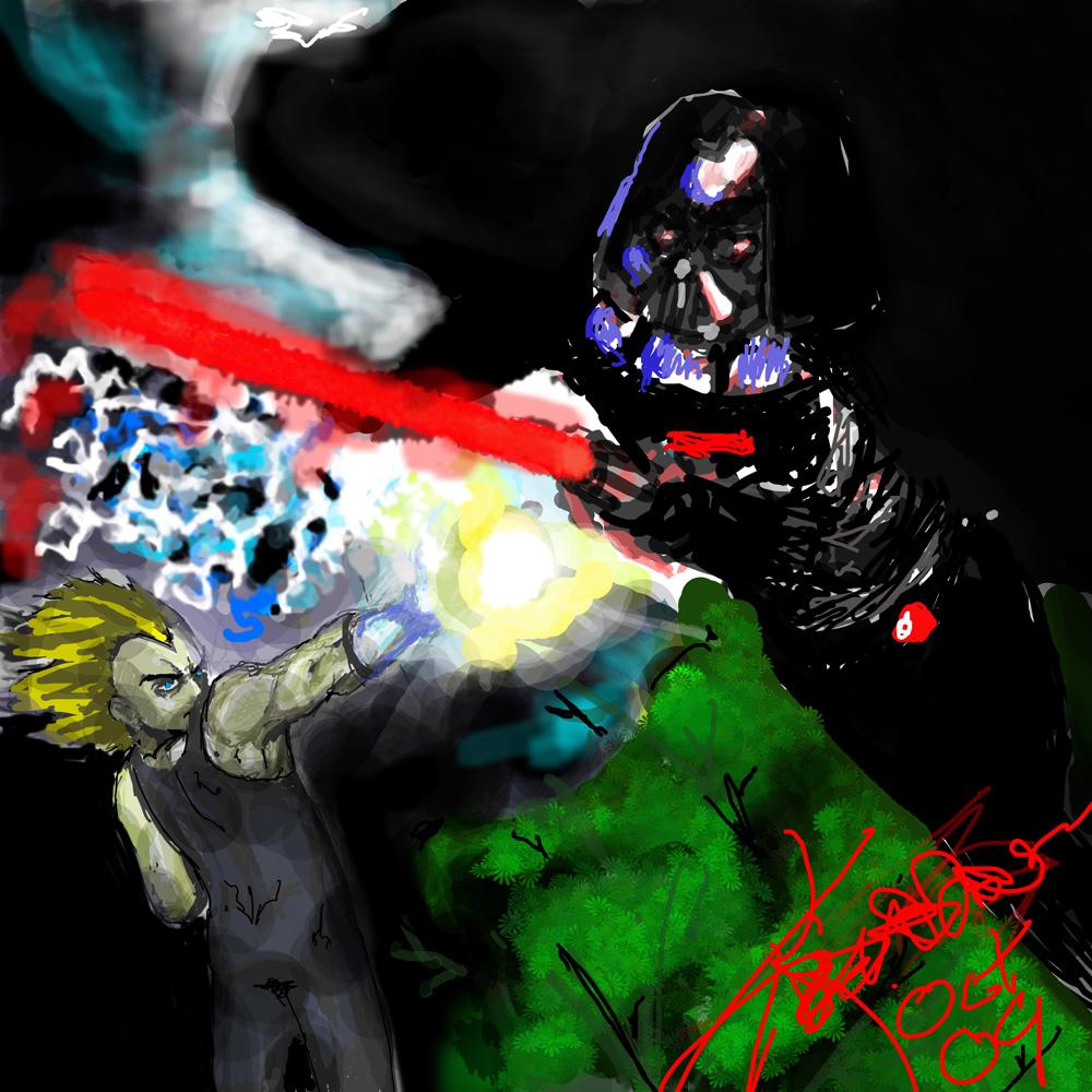 super saiyan vs sith lord