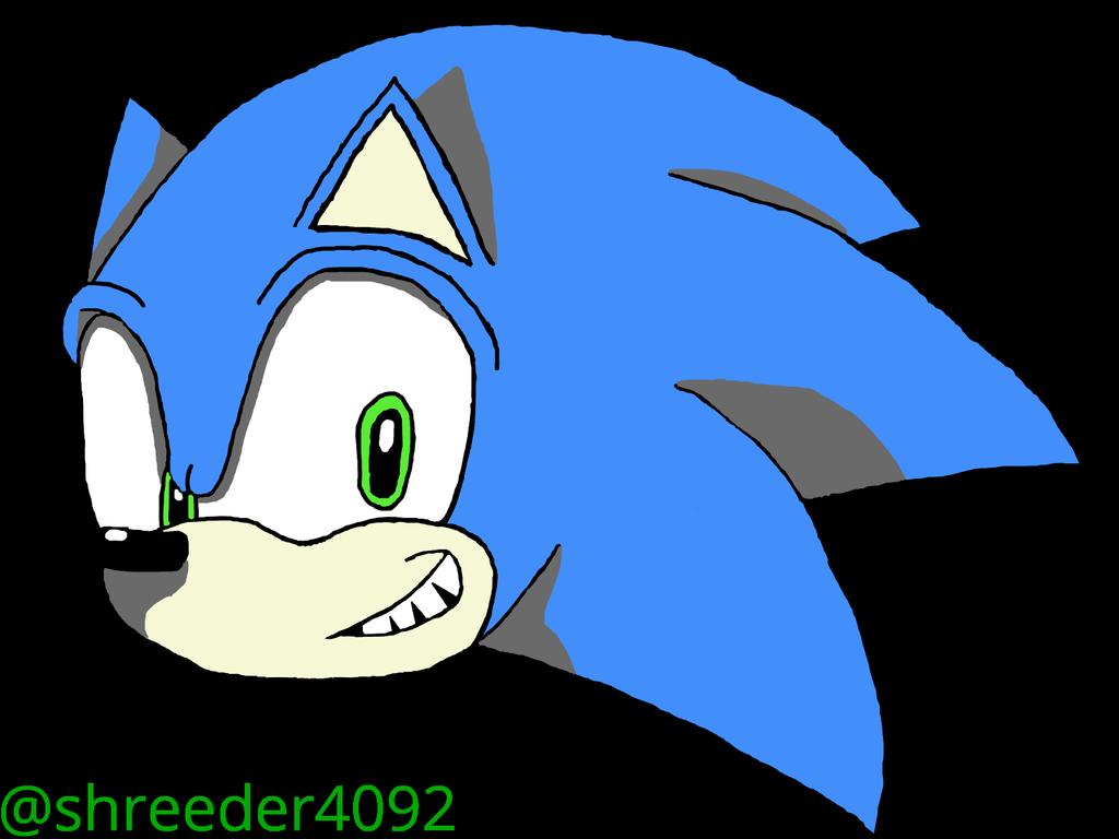 Sonic The Hedgehog Modern Sonic By Shreeder4092 On Newgrounds