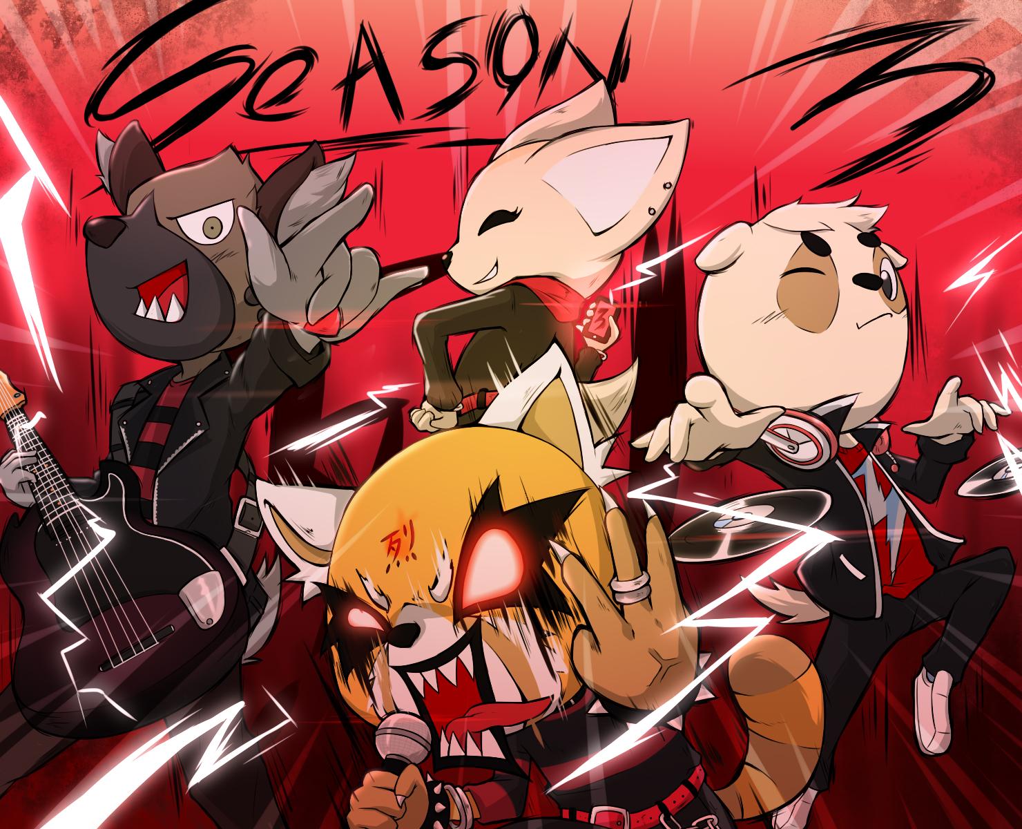 Aggretsuko Season 3!!!