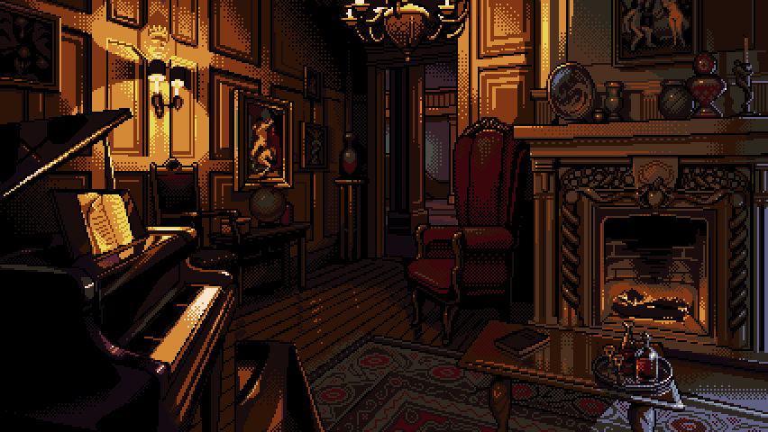 Mystery Game Background #4
