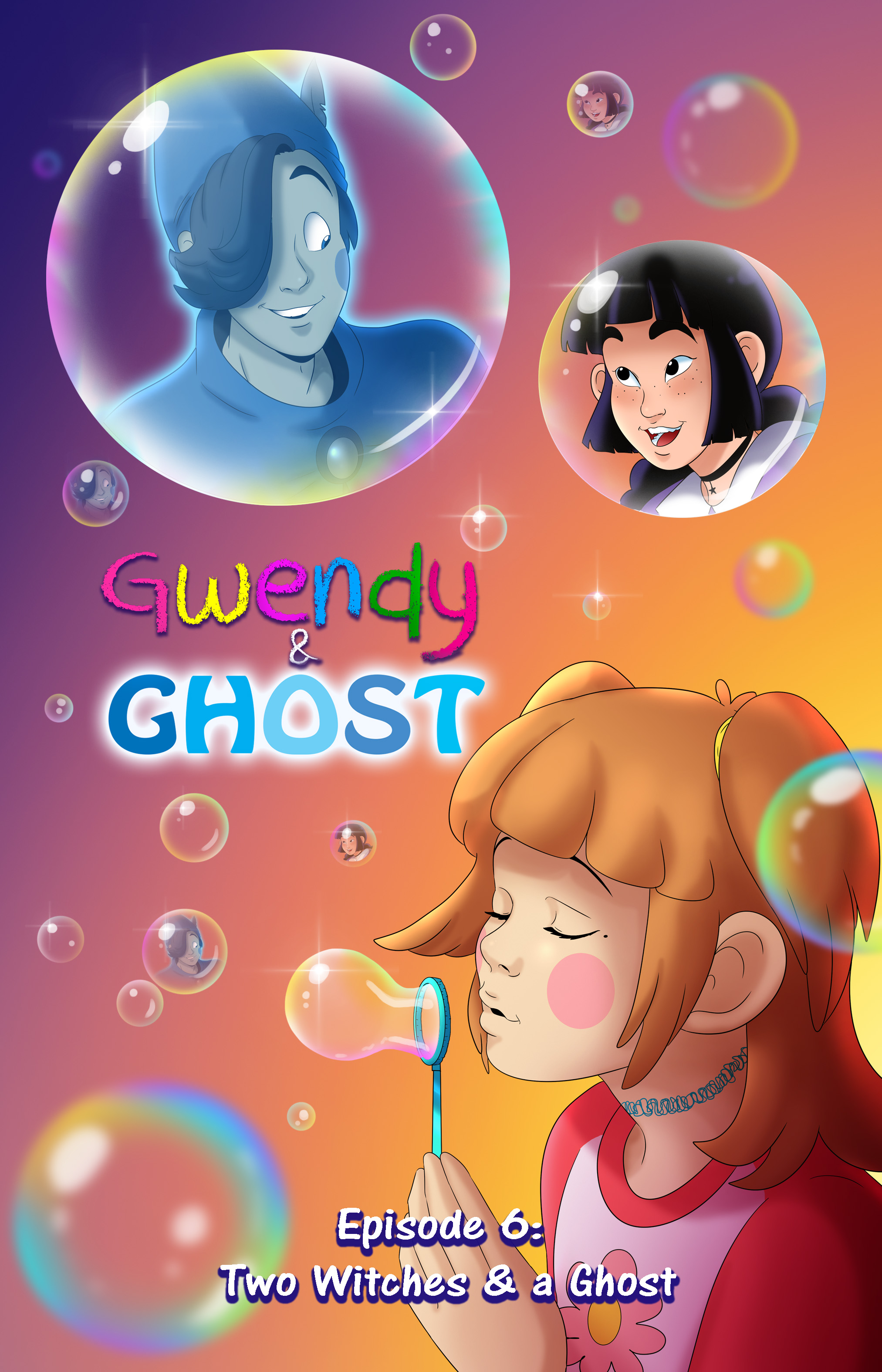 Gwendy & Ghost Ep. 6 Cover
