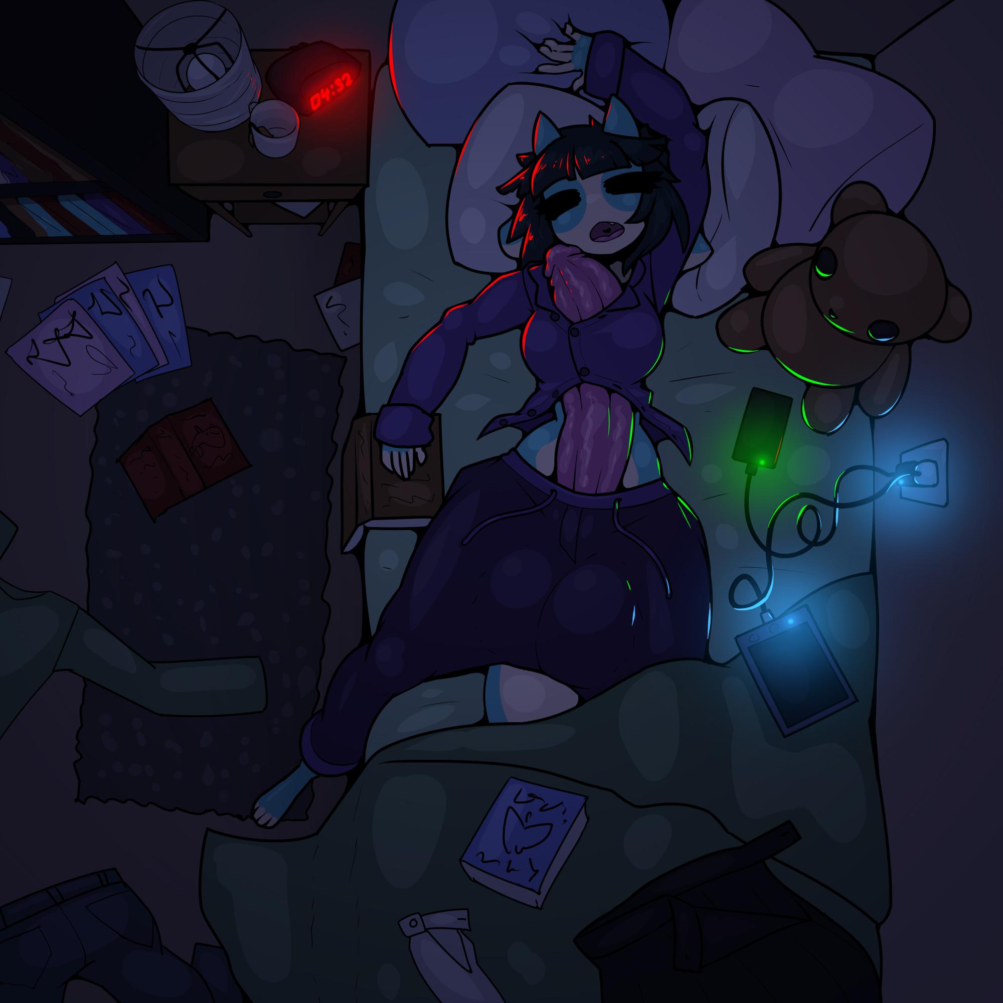 Stream Warmup: Bedtime Blue