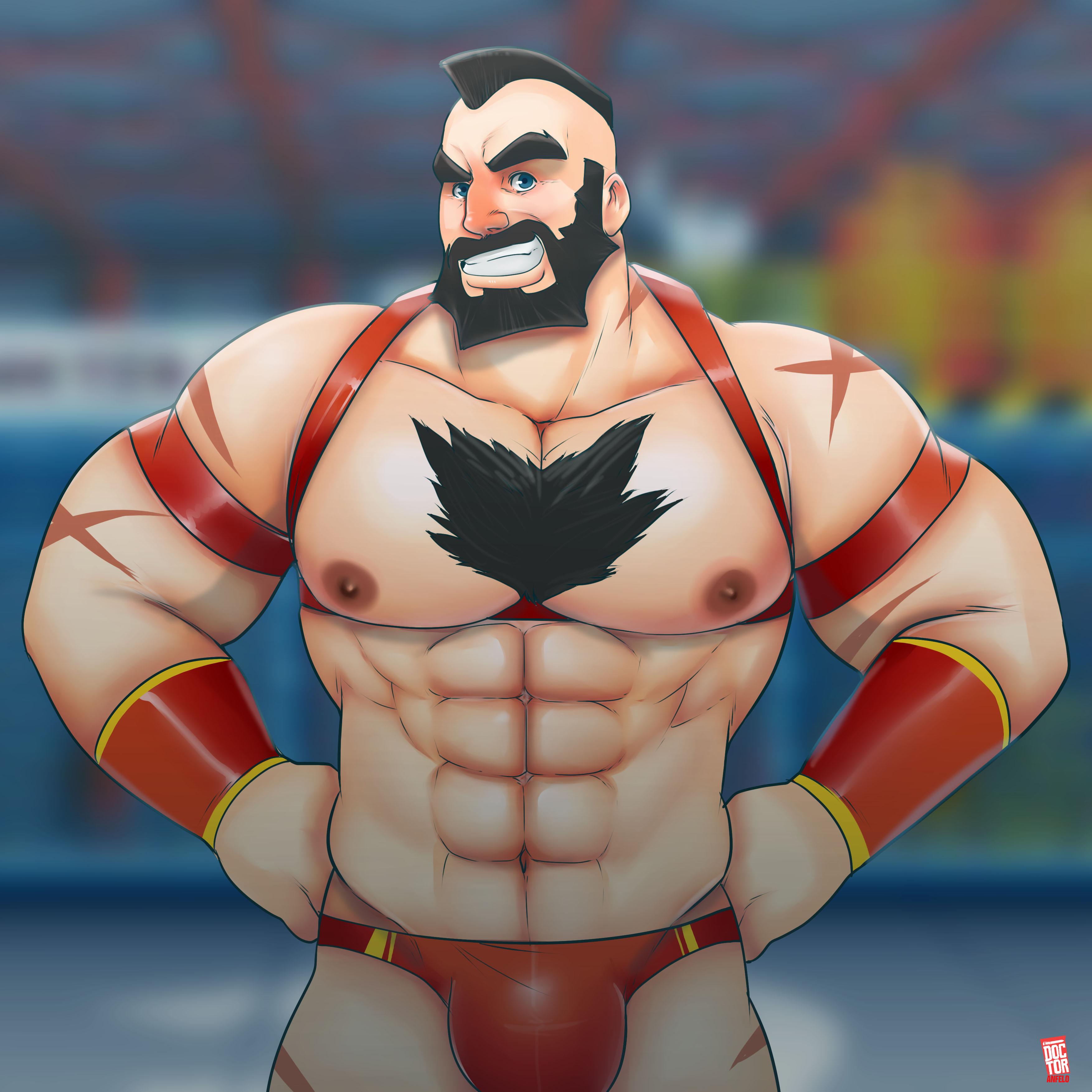 Zangief Street Fighter By Doctoranfelo On Newgrounds