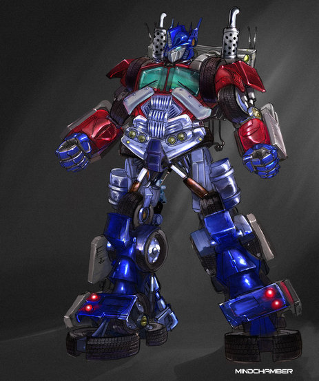 Optimus Prime (HOC) version by MindChamber on Newgrounds