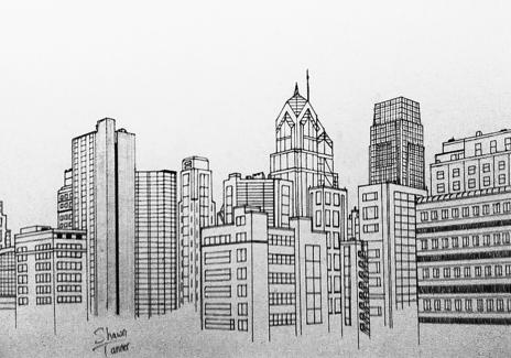 Philly Skyline By Afro Ninja On Newgrounds