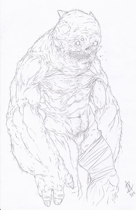 Sloth Lineart by Smoke...