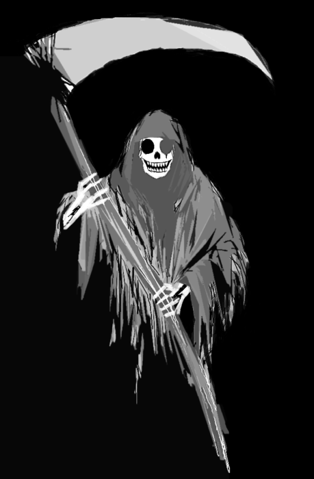 smiling grim reaper by lugen on newgrounds
