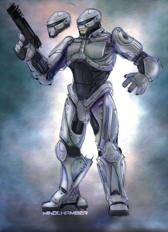 Robocop 2013 Concept By Mindchamber On Newgrounds