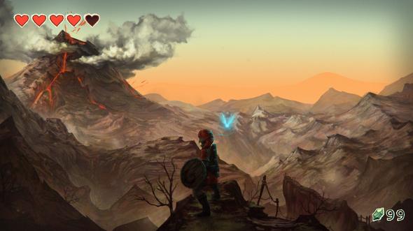 Zelda Death Mountain Trail By Katatafisch On Newgrounds