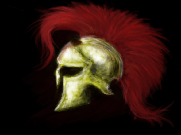 Spartan Helm By Redlord93 On Newgrounds