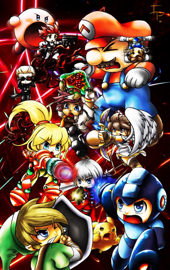 Nintendo Vs Capcom By Vlaireice32989 On Newgrounds