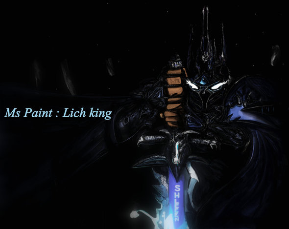 Ms Paint: Lich King V2 by Shleeen on Newgrounds